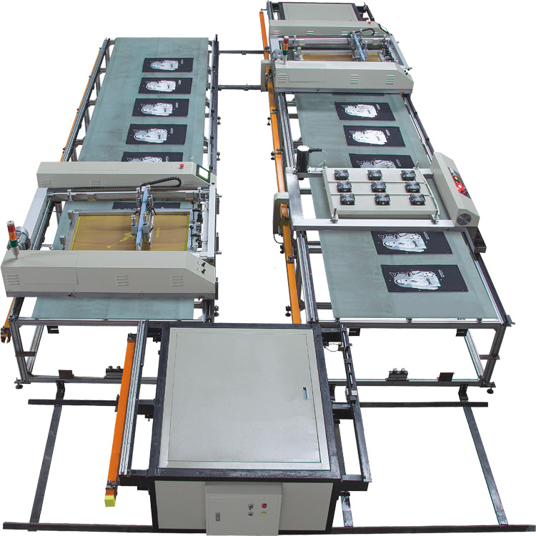 SPT Automatic Flat bed Silk Screen Printing Machine