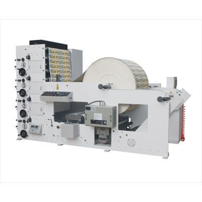 SHR-650/850 4-Color cup paper printing machine