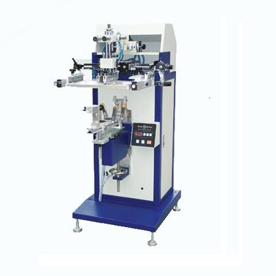 SPC Flat/convexity lipstick container screen printing machine