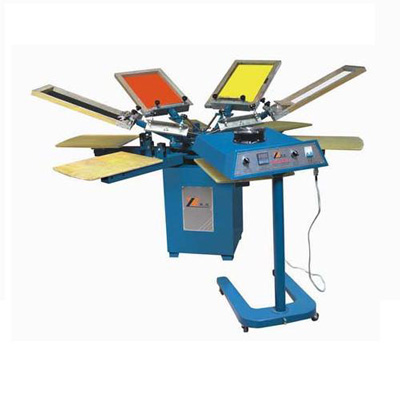 SPM manual ratory silk screen printing machine