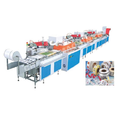 SPR Automatic roll to roll ribbon screen printing machine