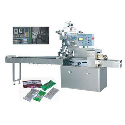 SPW-300B High-speed automatic pillow packaging machine