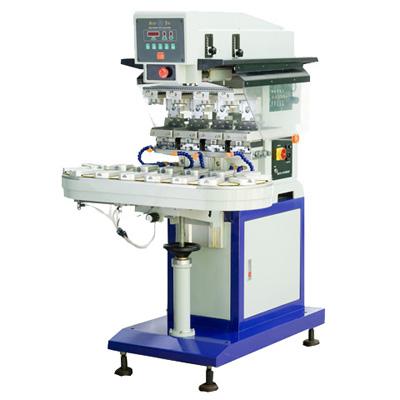 4-color Pneumatic Pad Printing Machine - Changs Machinery