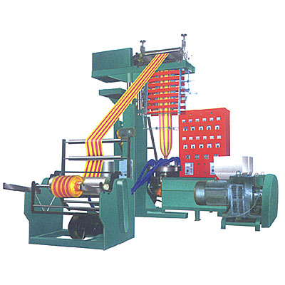 SJ-45x2C/600 Fully Automatic High Quality Two-colour Striped Film blower/Machine
