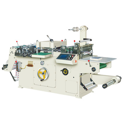 HSM-320 Adhesive Sticker Die Cutting Machine