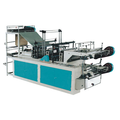 Computer Control High-Speed Vest Rolling Bag Making Machine (Double Layer)