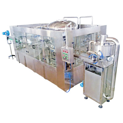 Automatic 3-In-1 Water Washing, Filling, Capping Machine