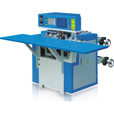 Non-Woven Bag Handle Loop Making and Fixing Machine