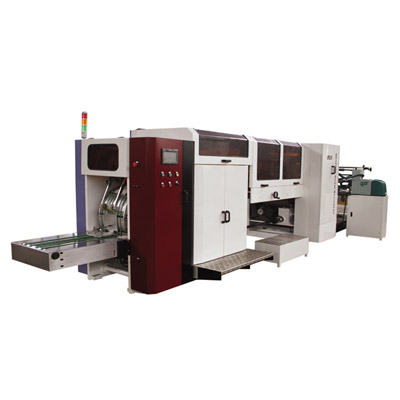 SRZ320A Full-automatic high-speed sharp bottom paper bag machine