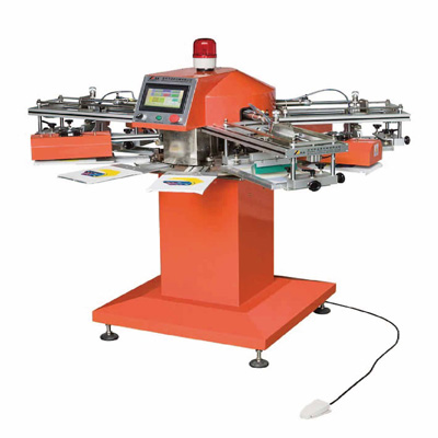 High Speed Tagless / Label Screen Printer