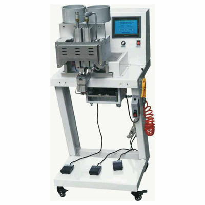SSD997-2 Double heads Four Claws Round Pearl Attaching Machine