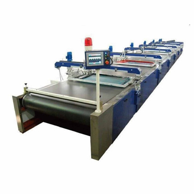 SPD Series Automatic flatbelt Screen Printing Machine