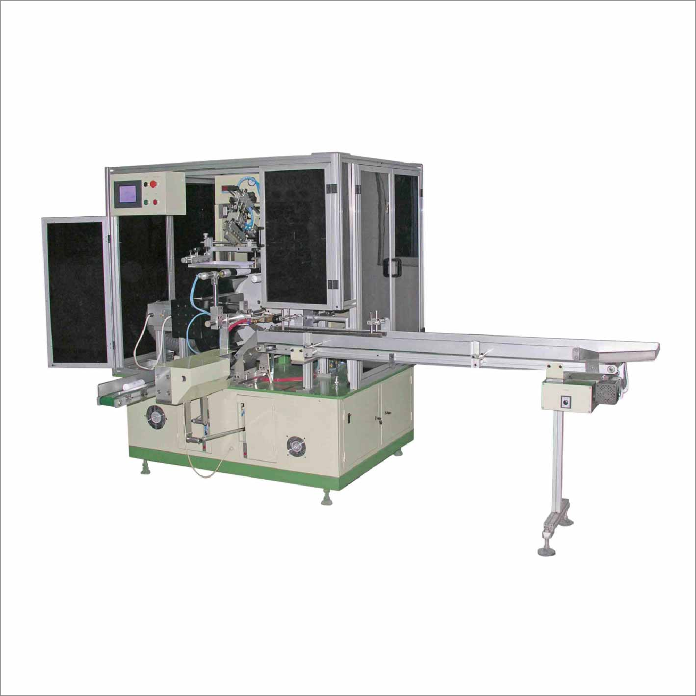 R12UV Full Auto Single Color Soft Tube Screen Printing Machine